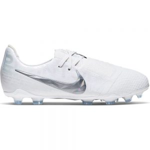 Nike Phantom Venom ELITE FG Voetbalschoenen Kids Wit Chrome