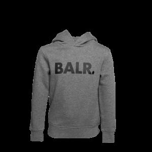 BALR. Brand Hoodie Kids Grey