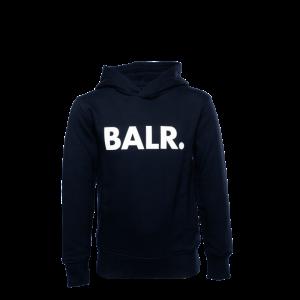 BALR. Brand Hoodie Kids Navy Blue