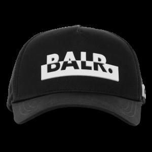 BALR. Contrasting logo cap Black