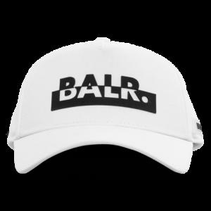 BALR. Contrasting logo cap White