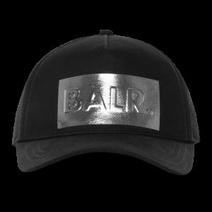 BALR. Silver Club Cap Black