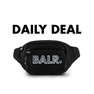 BALR. embro patch waist pack Black