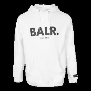 BALR. since straight hoodie White