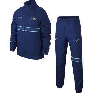Nike CR7 Dry Trainingspak Kids Blauw Lichtblauw