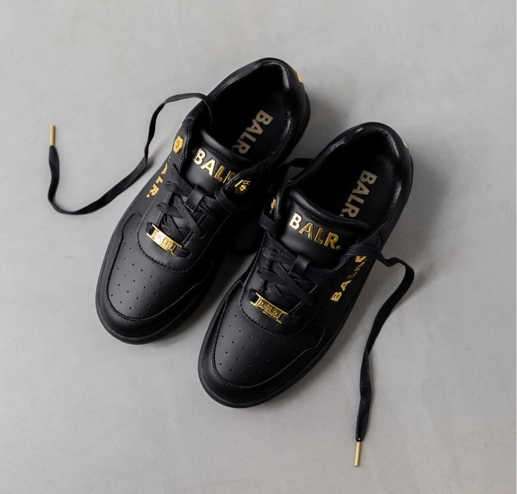 SS 20 sneakers balr black gold