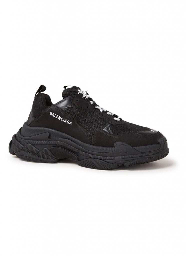 balenciaga sneaker zwart