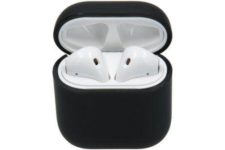 Zwarte airpod hoes