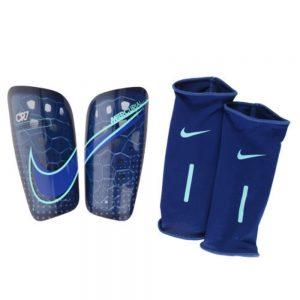 Nike CR7 Mercurial Lite Scheenbeschermer Blauw Hyper