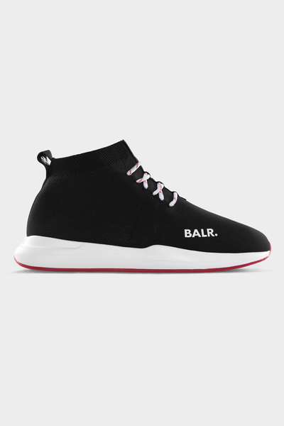 EE Premium Sock Sneaker Unisex Black/Red