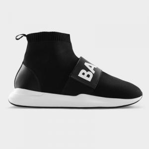 EE Premium Strap Sock Sneaker Men Black